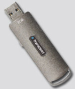 USB Flash RAM 2048Mb USB2.0 Transcend Jetflash 110х Grey Color [TS2GJF110]