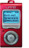 LiveMusic CA-F180 Red - 1024Mb