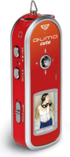 Qumo cute - 512Mb (Red)